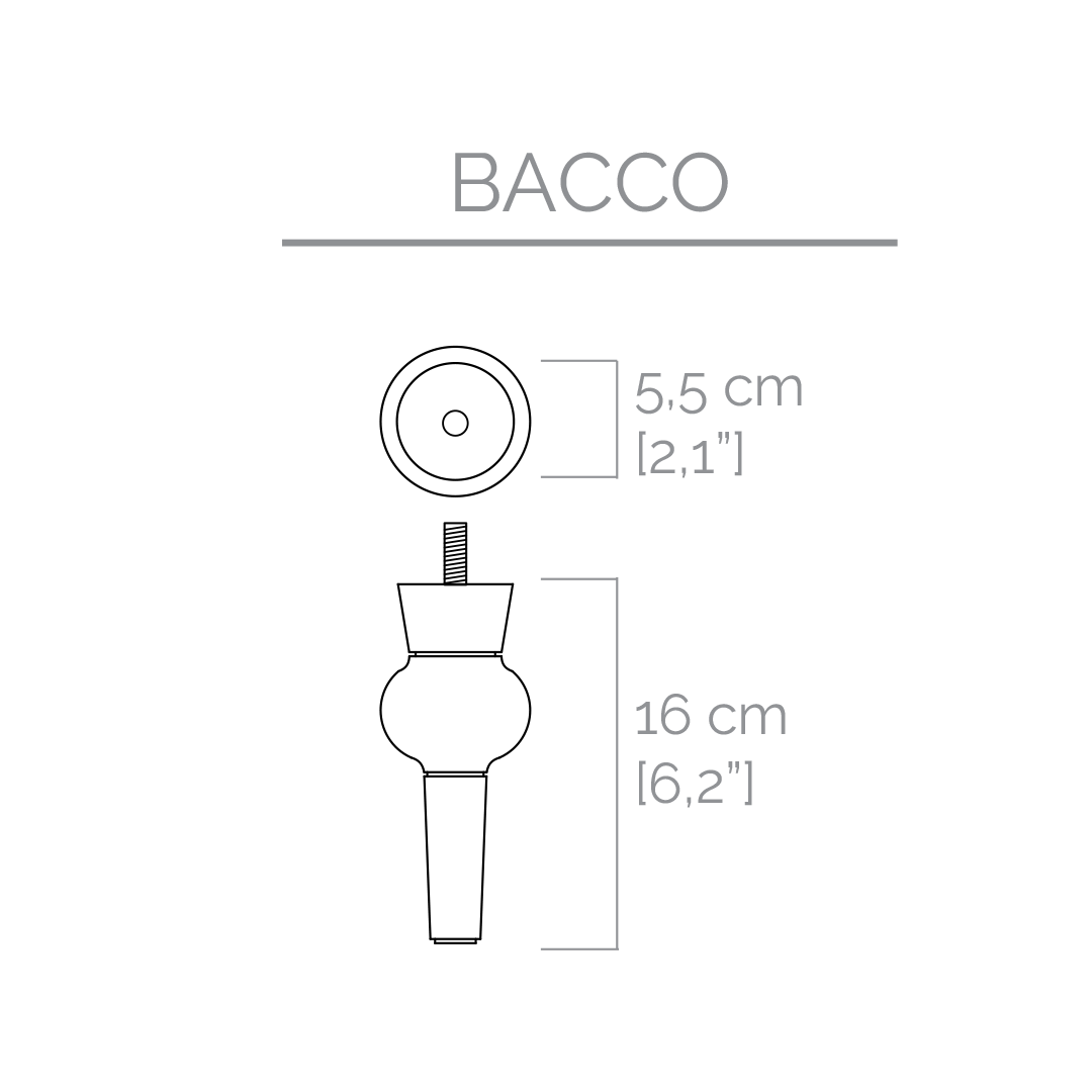 4* Feet BACCO   Various colors
